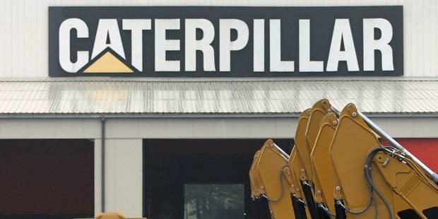 Caterpillar: Accord sur le volet financier du plan social - La DH
