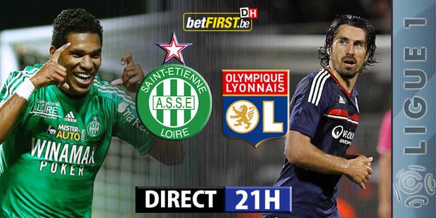 Saint-Etienne - Lyon (1-2) - La DH