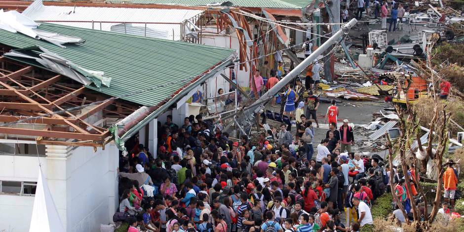 Typhon/Phillipines: toujours sans nouvelle de 120 Belges