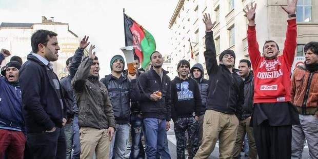 Nouvelle manifestation afghane au coeur de Bruxelles - La DH