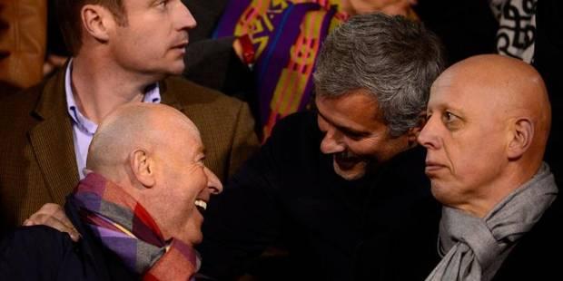 Quand Mourinho et D'Onofrio se font la bise en tribunes - La DH