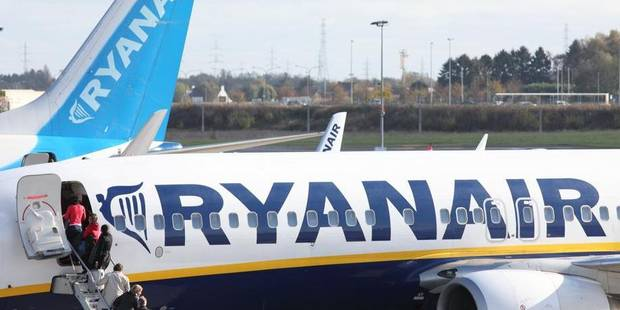 Ryanair : 10 destinations au d�part de Bruxelles