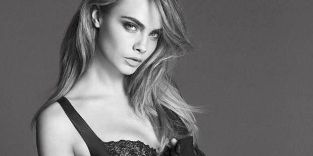 cara delevingne g rie d une marque de lingerie la dh. Black Bedroom Furniture Sets. Home Design Ideas