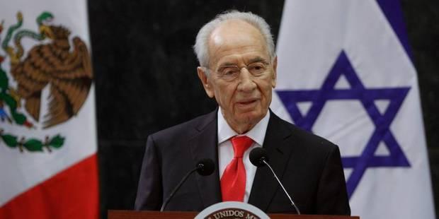 """La paix avec les Palestiniens est """"urgente"""" et """"possible"""", selon Shimon Peres - La DH"""