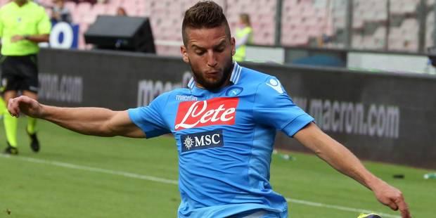 Dries Mertens décisif dès son entrée en jeu contre la Lazio - La DH