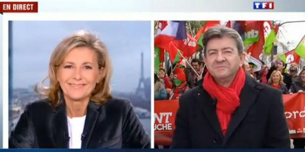 Mélenchon dans la tourmente après une interview polémique sur TF1 - La DH