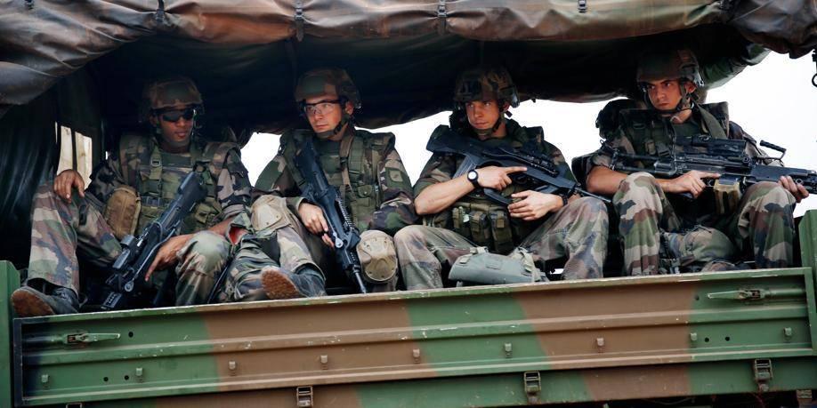 Près d'un millier de soldats français en Centrafrique