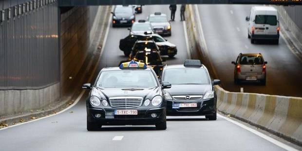 La police a été conscientisée aux problèmes vécus par le secteur des taxis - La DH