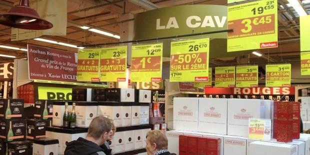 La France met la grande distribution belge au tapis - La DH