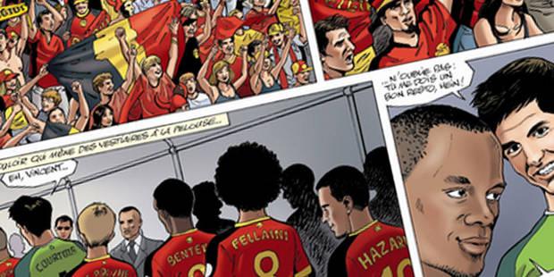 L'Union belge pourrait porter plainte contre une BD sur les Diables Rouges