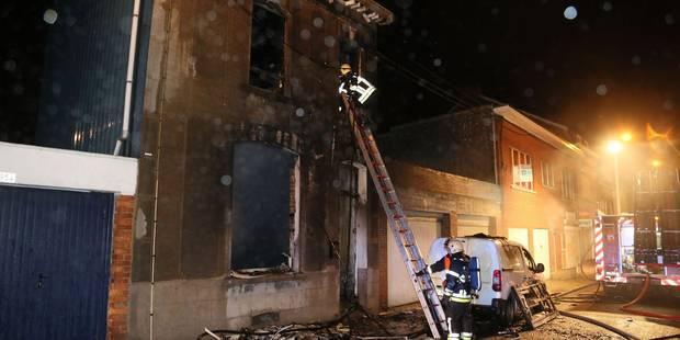 Deux personnes brûlées à Gilly - La DH