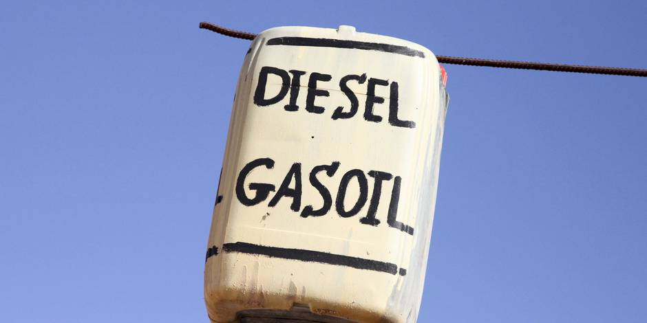 Baisse du prix du diesel