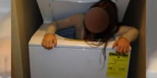 Une fillette joue à cache-cache et se coince dans une machine à laver - La DH