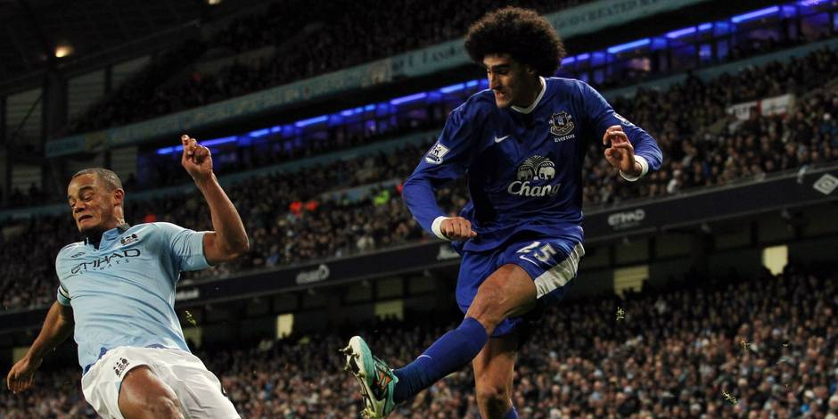 Kompany défend Fellaini
