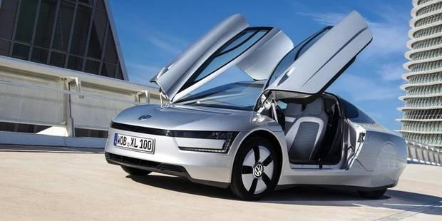 Volkswagen XL1: moins d'un litre pour 100 km - La DH
