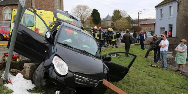 Une conductrice blessée à Gougnies - La DH