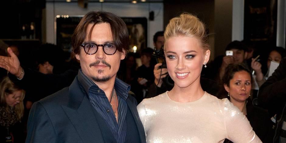 "Johnny Depp se fiance à l'actrice de ""Zombieland"" Amber Heard"