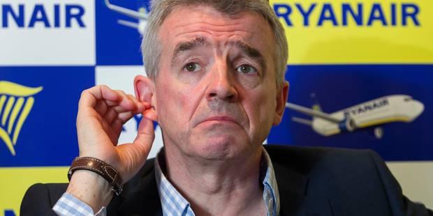 "O'Leary: ""Ryanair sera toujours plus important � Charleroi qu'� Zaventem"""