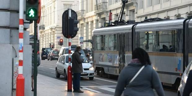 La vitesse commerciale des véhicules de la Stib à la baisse en 2013 - La DH