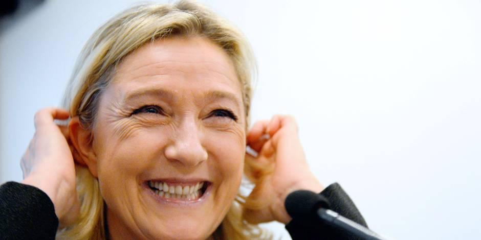 Le Front National en tête pour les Européennes