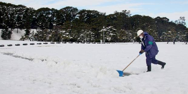 Tempête de neige au Japon: 11 morts et plus de 1.250 blessés - La DH