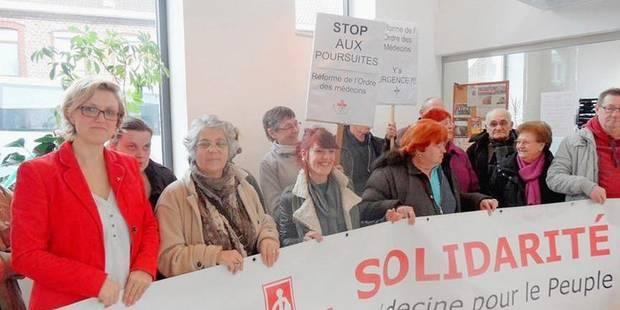 Sofie Merckx en appel contre l'Ordre des m�decins