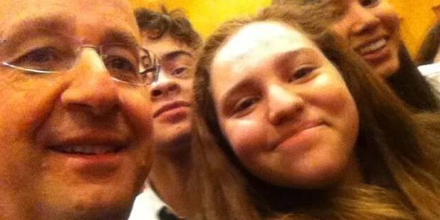 François Hollande, roi du selfie - La DH