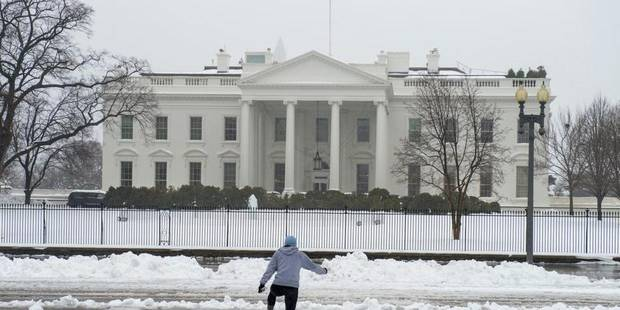 L'est des Etats-Unis paralys� par la neige, 16 � 18 morts
