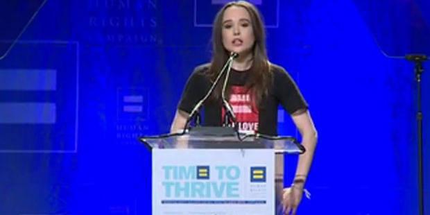 L'actrice canadienne Ellen Page fait son coming-out en direct - La DH