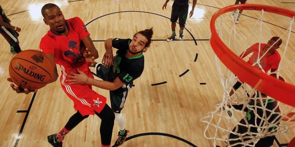 NBA: l'Est remporte le All Star Game sur un score record