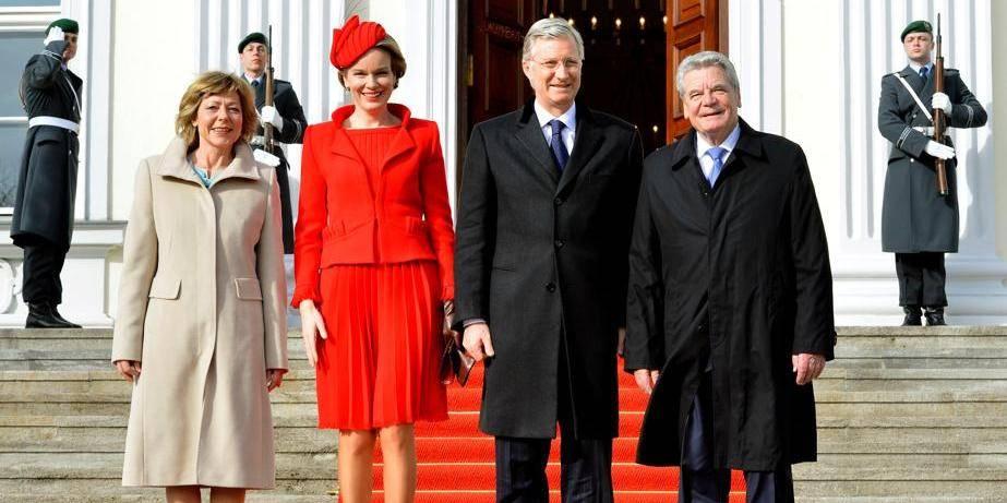 Le roi et la reine à Berlin pour leur première visite officielle en Allemagne