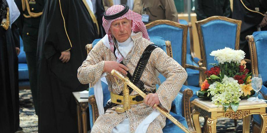 La danse ridicule du prince Charles
