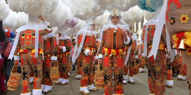 Record: Plus de 100.000 personnes ont fêté le Mardi Gras à Binche - La DH