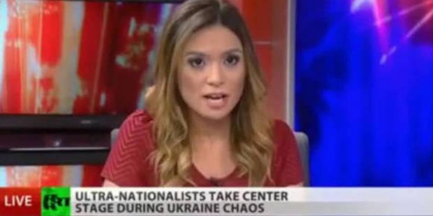 Une journaliste américaine démissionne en direct d'une chaîne russe