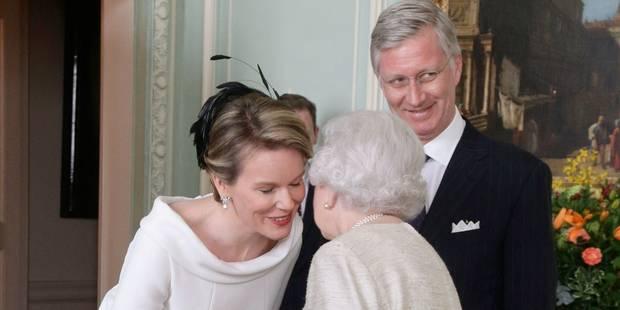 Philippe et Mathilde ont déjeuné une heure avec la reine Elisabeth II - La DH