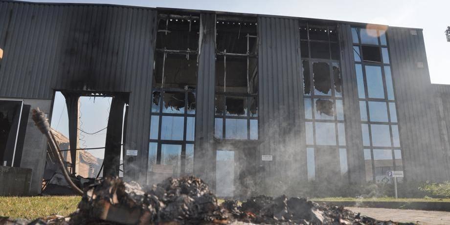 Bamboo Touch détruite par les flammes