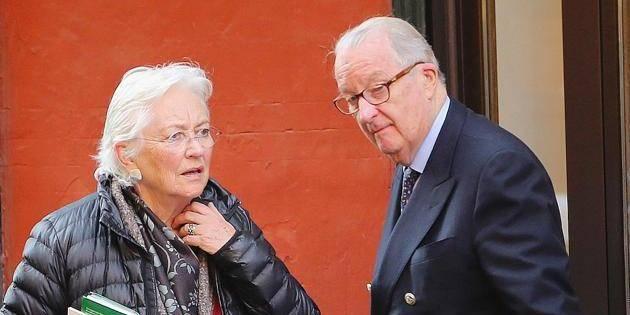Prince Albert & Princess Paola of Belgium visit Bologna