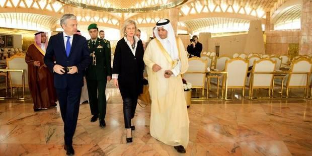 Astrid en visite en Arabie Saoudite et à Oman - La DH