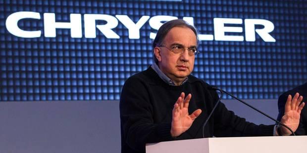 Chrysler rappelle près de 900.000 véhicules dans le monde - La DH