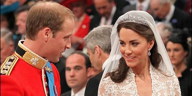 Une part du gâteau de mariage de William et Kate aux enchères - La DH