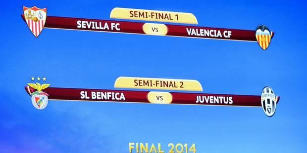 Europa League: Séville-Valence et Benfica-Juventus - La DH