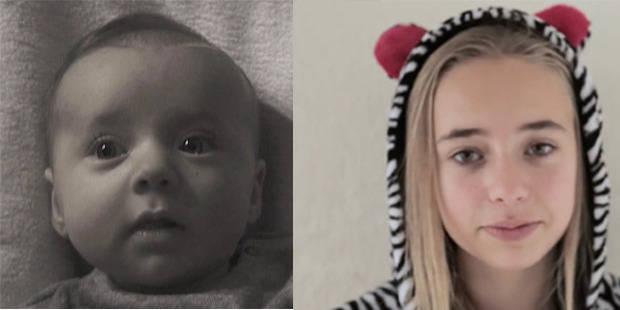 Il filme sa fille de 0 à 14 ans (en 4 minutes) - La DH