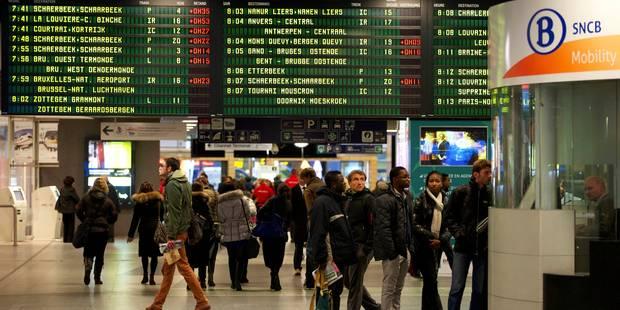 Circulation r�tablie sur la ligne reliant Bruxelles-Midi � Charleroi-Sud