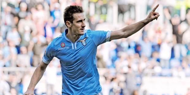 Miroslav Klose prolonge son contrat avec la Lazio - La DH