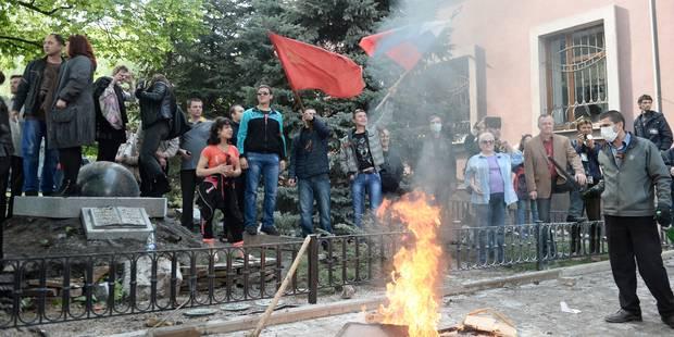 """Washington appelle la Russie et l'Ukraine à """"restaurer l'ordre"""" - La DH"""