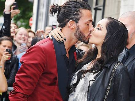 Nabilla And Thomas Leaving the JP Gaultier Show-July-3-Paris PICTURE NOT INCLUDED IN THE CONTRACT