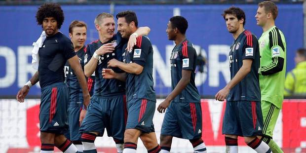 Bundesliga: le Bayern déroule, Hambourg coule - La DH