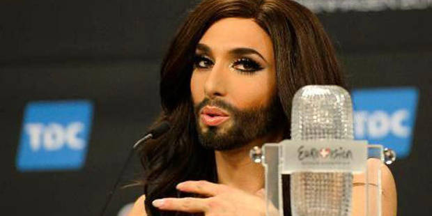En Russie, la victoire d'un travesti à l'Eurovision passe mal - La DH