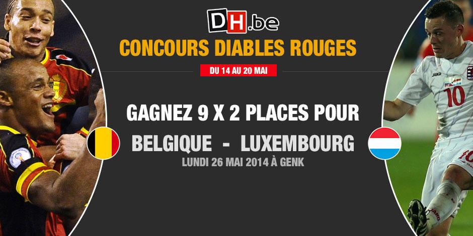 Concours: Gagnez 9x2 places pour Belgique-Luxembourg - La DH