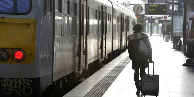 1,3 million d'euros: Le co�t des retards de la SNCB